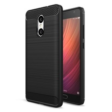 Case for Xiaomi Redmi Pro Cover Case Carbon Fibre Brushed TPU Shell Phone Cases for Redmi Pro Mobile Phone Bag - Hot Sell(China)