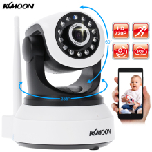 KKmoon HD 720P Wireless WIFI IP Camera PTZ Security CCTV Network Camera IR-CUT Audio Video Surveillance Support TF Card Slot