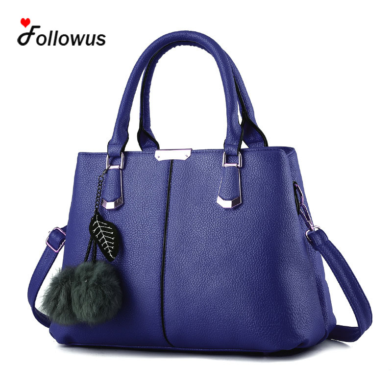 Ladies OL Hangbags 5 Colors PU Leather High Capacity New Fashion Office  Messenger Shoulder Bag<br><br>Aliexpress