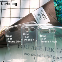 0.3mm Crystal Clear Soft Silicone Transparent TPU Case Cover For iPhone 6 6S 5 5s se 7 6Plus Ultra Thin Cell Phone Cases(China)