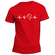 Basset Hound heartbeat | Unisex Shirt | Dog lovers gift idea | Basset | Heartbeat design | Parcel WILL NOT arrive in time -A987(China)