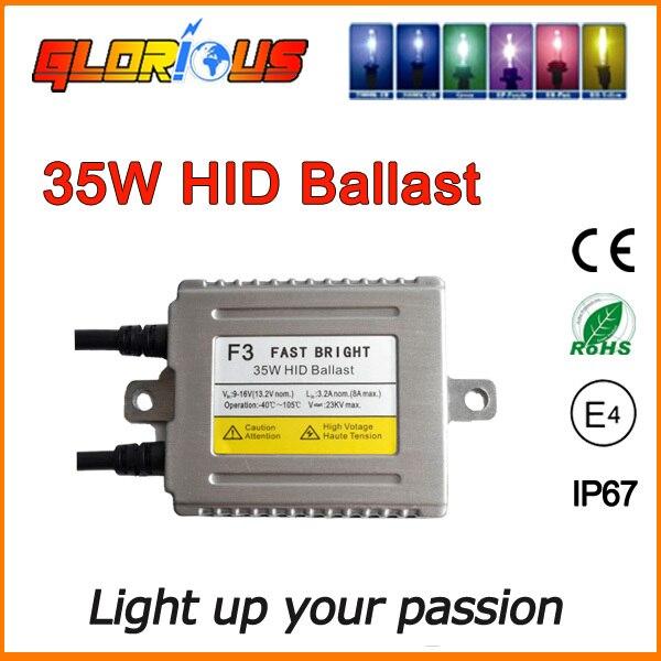 1pc 12v 35w xenon ballast Fast bright F3 Digital Conversion hid ballast replacement<br><br>Aliexpress