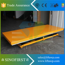 Stationary Furniture Scissor Electric Lift Tables