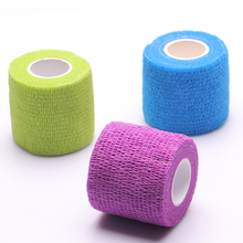Security protection CE/FDA Certification waterproof self adhesive elastic bandage 5M first aid kit Nonwoven Cohesive Bandage