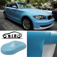 High Quality Matte Ligth Blue Car Wrap Vinyl Film Matte Vinyl Wrap With Air Free Vehicle Wraps Size:1.52*30m/Roll