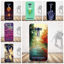 Soft Silicon Case Asus Zenfone Selfie ZD551KL 3D Relief Printing Back Cover Fundas - Jackie Union Trading Co.,Ltd store