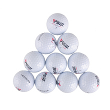 Hot Sales PGM Outdoor Sport Golf Game Training Match Competition Rubber Three Layers High Grade Golf Ball White Free Shipping(China)