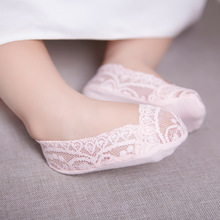 Summer Anti Slip Baby Lace Socks Girls Princess Meias Cute Girls Ancle Socks White Pink Kids Slippers Sox Brand Quality 2-12Y(China)