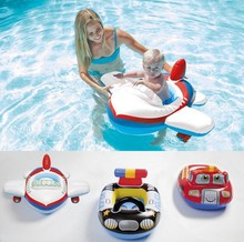 Funny Shape Swimming Ring Baby Swimming Pool Seat Toddler Float Ring Aid Trainer Float Water For Kids 0-3 Years Old