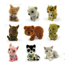 Japan Original bulks mini pets animals in my pocket little jungle farm animals puppy kitten bunny dolls kids toys for girls A