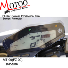 Motoo - Cluster Scratch Protection Film Screen Protector for Yamaha FZ09 FZ09 FZ 09 MT09 MT-09MT 09 2014 2015 2016