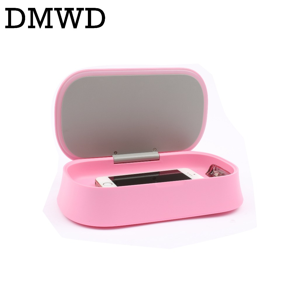 DMWD Underwear Cosmetics Phone MP3 Sterilizer ultraviolet Sanitizer Disinfector USB Rechargeable Aroma disinfection Incense Box<br>