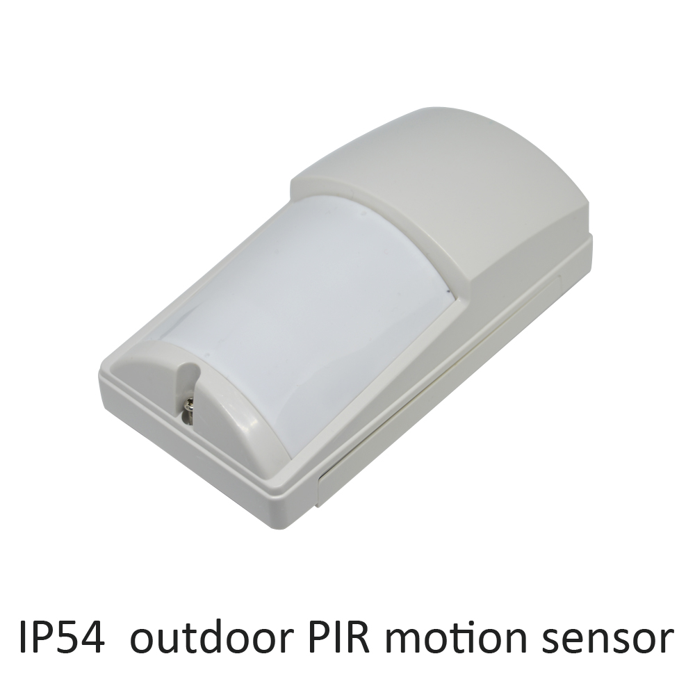 Security Alarm sensor IP54 waterproof outdoor infrared detector wall-mounted pet immunity optex lx402 NC NO signal output option<br>