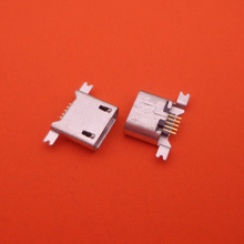50pcs/lot micro usb connector 5pin 5 pin jack socket smd used In Tablet Phone PDA Charging port female type b pcb plug dock