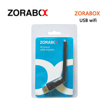 ZORABOX USB Wifi With Antenna Work For Freesat V7 V8 Series Digital Satellite Receivers FTA Set Top Box V6S Iptv Mag250 Mag254(China)