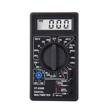 2 Color LCD Digital Multimeter AC/DC 750/1000V Voltmeter Ammeter Ohm Tester Meter Digital Multimeter DT830B Drop Shipping(China)