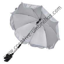 Baby stroller umbrella,baby  car  umbrellas,hand open.8mm steel shaft and steel ribs,clamp parasol,clip,children