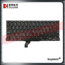 "A1502 US Layout Keyboard AP11 AC07 Keyframe 2013 2014 2015 For Macbook Retina Pro 13"" A1502 Laptop English Keyboards Replacement"