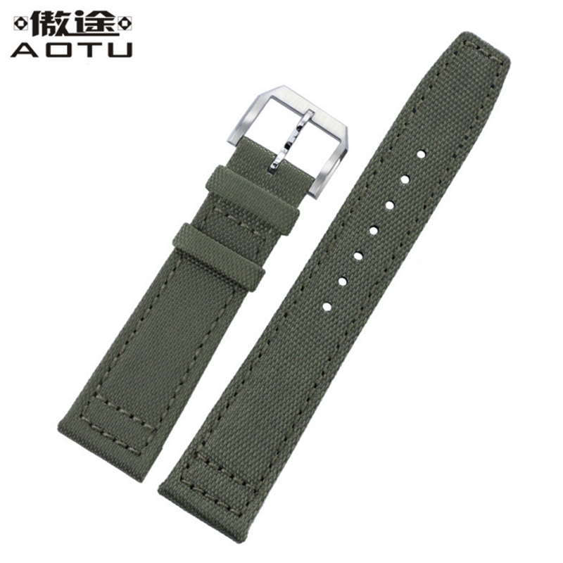 Nylon Watchbands For IWC PILOT Men Watch Straps 20mm 21mm 22MM Leather Watch Band Top Quality NATO Male Watch Strap Clock Saat<br>