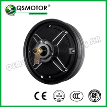 10inch 500W 205 27H V1 48V brushless dc electric scooter motorcycle hub motor - QS Motor Factory Store store
