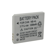 1200mAh  NB-4L NB 4L Digital Camera Battery Pack For Canon SD1000 SD600 SD400 SD430