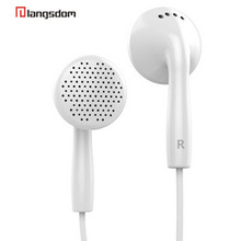3.5mm Stereo Super earphone With Mic Handfree for Phone  iphone 4 4S 5 5S 6 Samsung HTC Sony Best friend  IN2