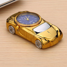2 In 1 Watch Lighter Sports Car Shape Electric USB Charging Cigarette Lighter With Gift Box(China)