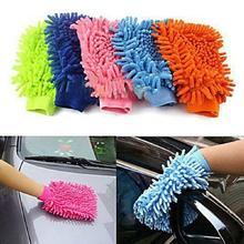 free shipping new 1pcs Specialized Car Wash Glove Microfiber Car Cleaning Cloth Car Cleaning Glove(China)