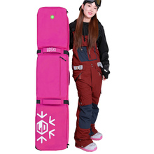 LD SKI snowboard bag without wheels ski bag double board single board waterproof new upgrade products 152 165 or 175(China)