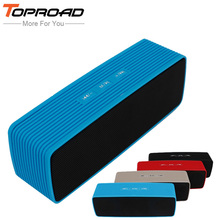 TOPROAD Portable HiFi Bluetooth Speaker Stereo Wireless altavoz Speakers Support FM Audio TF Handsfree Boombox for Mobile Phone