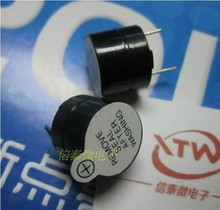 30pcs,9V,Tone Alarm Ringer Active Buzzer,12MM*9.5MM, electronic components & Free shipping(China)