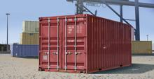 TRUMPETER 01029 1/35 Scale 20ft Container Plastic Model Building Kit