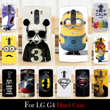 For LG G4 G 4 Hard Plastic Mobile Phone Cover Case DIY Color Paint Painting Cellphone Bag Shell Free Shipping