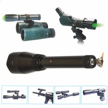 Advanced ND3-50 Night Vision Green Laser Designator Flashlight with Lock Scope Mount and Remote Switch for Rifle and Telescope