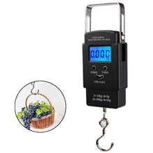 Buy 50KG 10g Electronic Portable Digital Scale Hanging Hook Fishing Travel Luggage Weight scale Balance scales Steelyard for $7.09 in AliExpress store