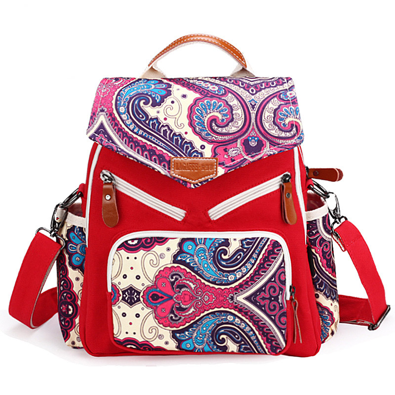 Ethnic backpacks bags wholesale fashion personality Ethnic Chinese style backpack bag lady bags<br>
