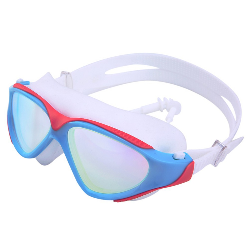 Goggles Professional Children Silicone Swimming Goggles Anti-fog UV Swimming Glasses for Men Women Eyewear 34