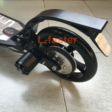 L-faster Town 7XL Electric Scooter Conversion Kit Customized Belt Drive For PU Wheel DIY High Speed Electric Kickscooter Motor