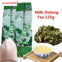 Wholesale jin xuan Milk Oolong Tea 125g High Quality Tieguanyin Green Tea Milk Oolong Health Care Milk Tea