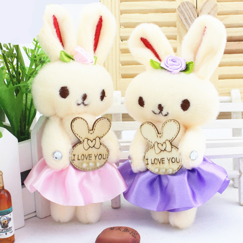 12pcs cute rabbit wedding favor return gift for guests happy birthday party supply kids party favor baby shower decoration