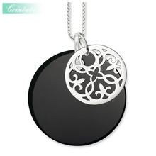 Necklace Ornament Trendy Gift For Women, Thomas Style Soul Jewelry 925 Sterling Silver TS Fashion Jewelry Wholesale(China)