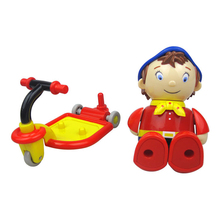New Present For Kids Movable Plastic Doll Cute Skateboards Classic Children Rattle Early Educational Toys(China)