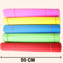 50cm super Long Sticks for Balloon Wedding decorations /Birthday gift Kids toys Carnival supplies Strong holders /rods 50set/lot