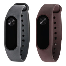 Buy New Soft TPU Original Silicon Wrist Strap WristBand Bracelet Replacement XIAOMI MI Band 2 Cinta de silicone dignity 8.9 for $1.00 in AliExpress store
