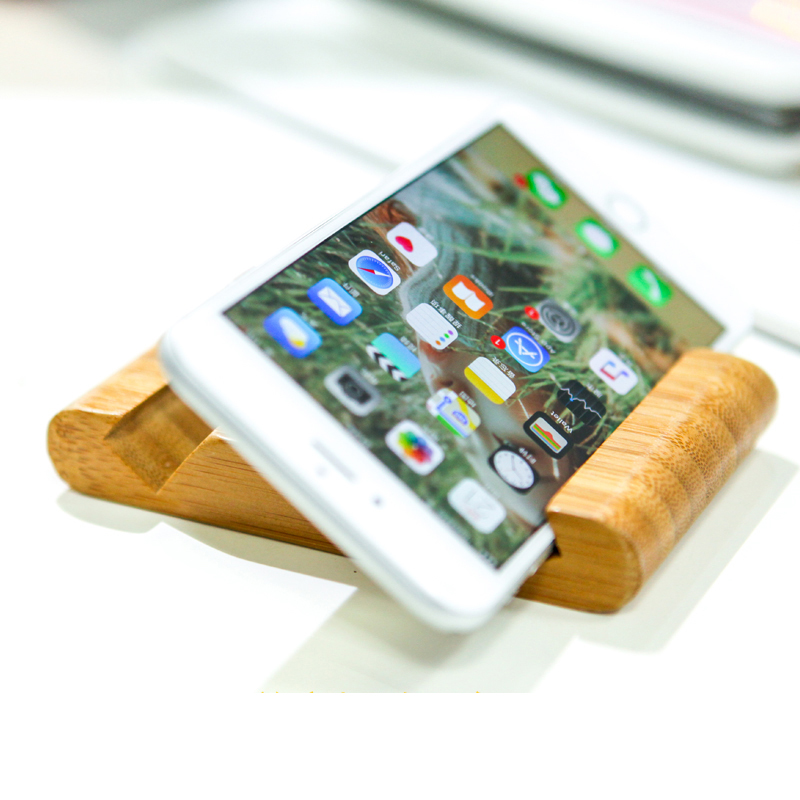 Bamboo Stand Dock Holder Easy Cell Phone Desktop Mount For Kindle iPad Mini/iPhone 7/SE/5s/6/6s Plus Samsung Galaxy HTC Nexus LG(China (Mainland))
