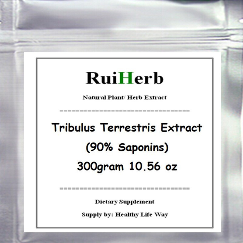 300gram Tribulus Terrestris Extract (90% Saponins) Powder 10.56oz free shipping<br>