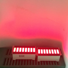 20pcs LED Bar Display 8 Segment RED Array Numbers LED Signs Display Bar Graph Segment LED Displays Red 8 Segment Bar-Graph Board(China)