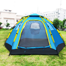 Outdoor Fishing Automatic Tent Camping Garden Picnic Set Hunting Roof Tent Tabernacle Beach Windbreak Fiberglass Pole(China)