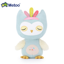 Metoo Sweet Cute Owl Doll Kawaii Plush Stuffed Animal Cartoon Soft Kids Toys for Girls Children Baby Birthday Christmas Gifts(China)