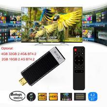 PKR 3,260.40  36%OFF   X96 X96S 4K Android 9.0 Tv Stick Amlogic S905Y2 Quad Core LPDDR4 4G 32G Mini PC 2.4G 5G Wifi BT4.2 1080P HD Miracast TV dongle